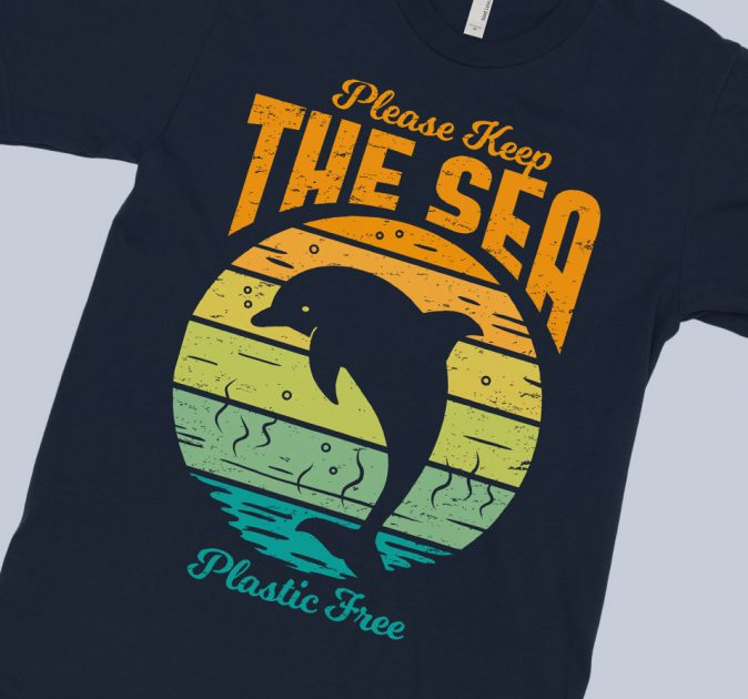 keep-sea-plastic-free-dolphin-retro-blue-shirt-feature