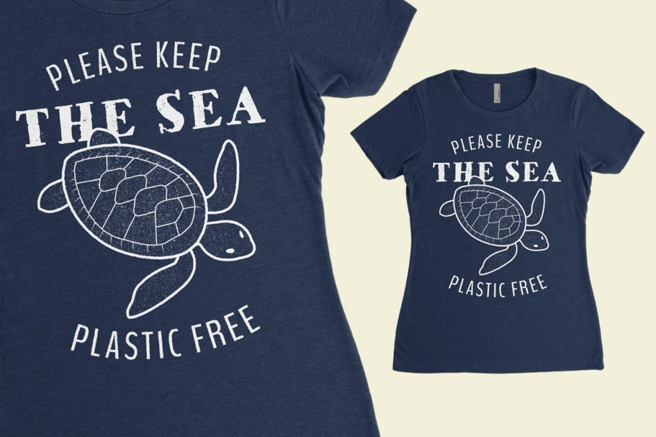 keep-sea-plastic-free-turtle-navy-shirt-detail