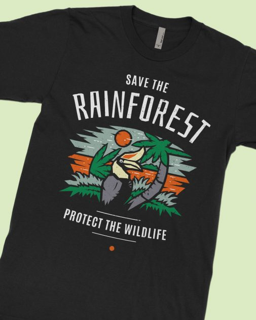 save-rainforest-hornbill-black-shirt-feature