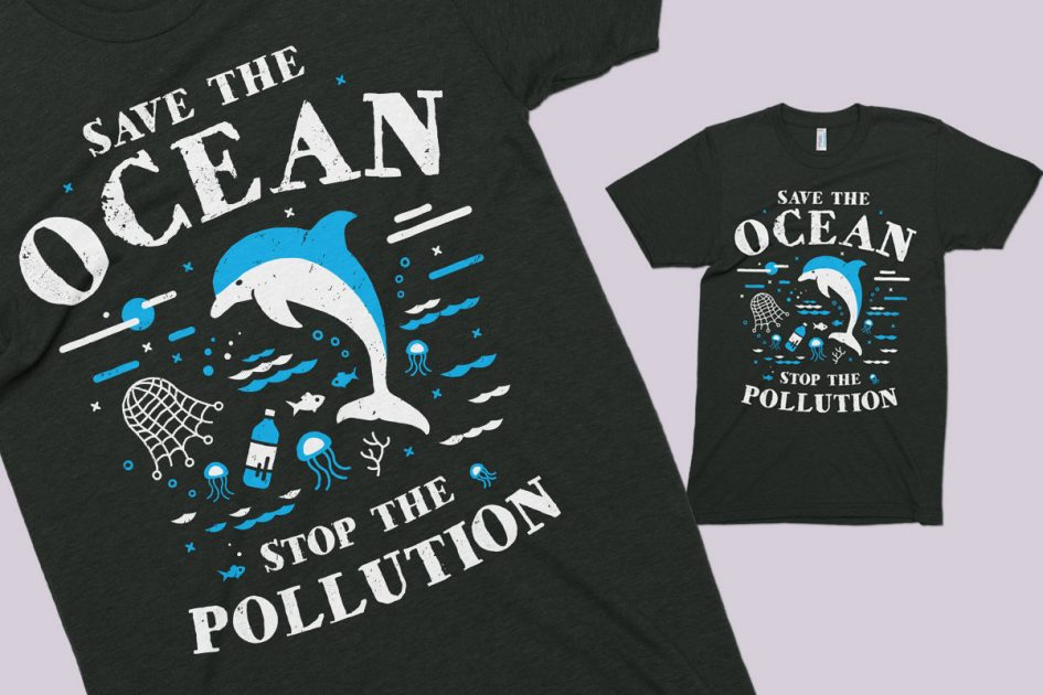 ocean-stop-pollution-dolphin-black-shirt-detail