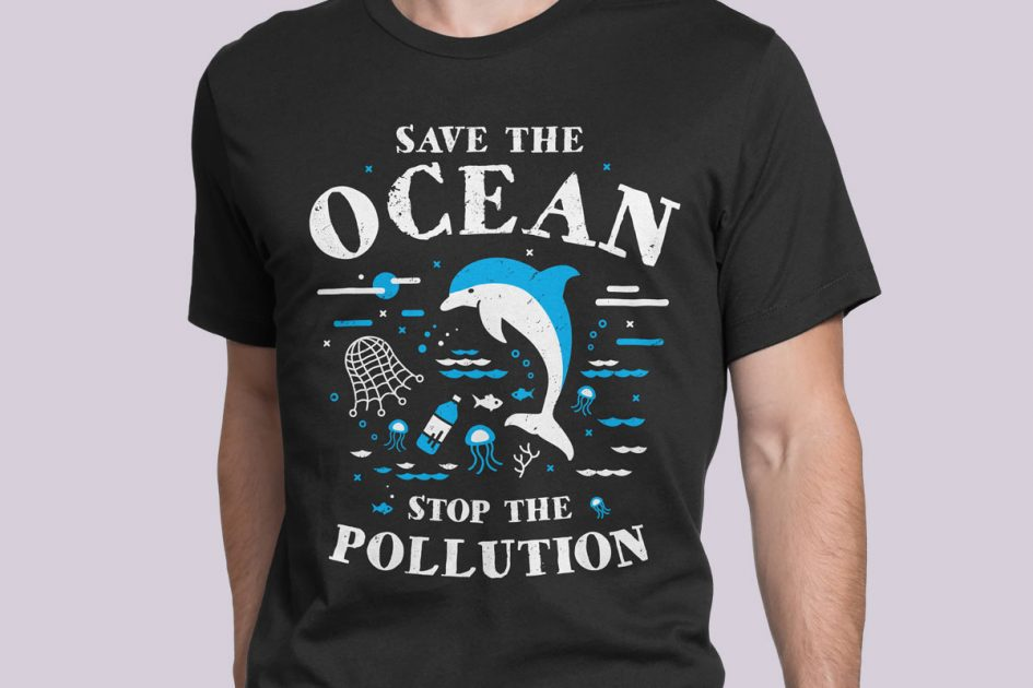ocean-stop-pollution-dolphin-black-shirt-model