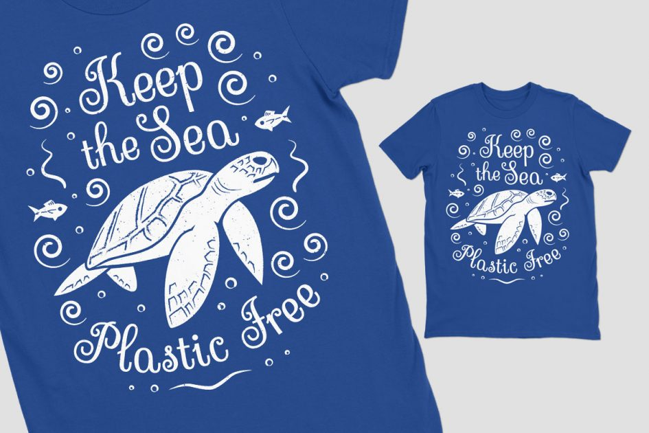keep-sea-plastic-free-turtle-blue-shirt-detail